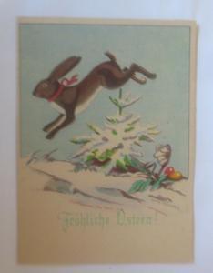 Ostern, Winterlandschaft, Hase, Ostereier,  1940, Hanns Müllner ♥ (70833)