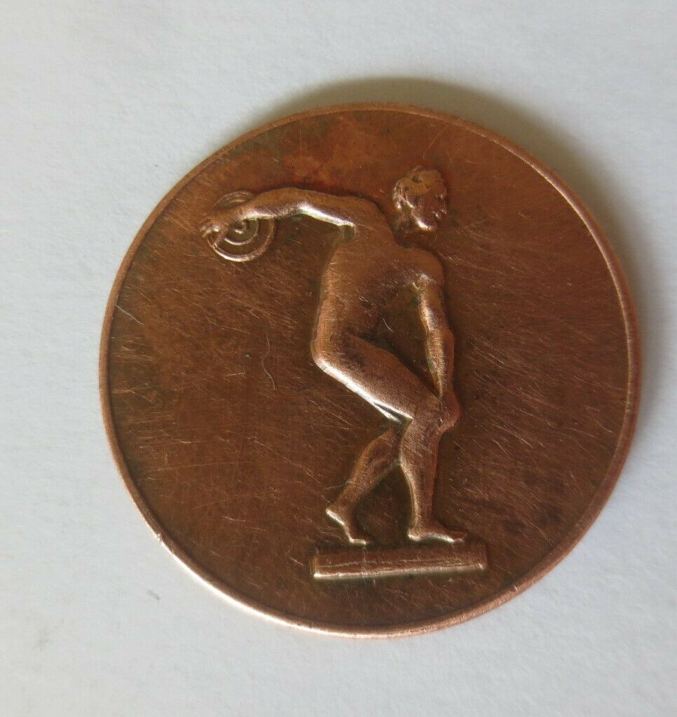 Medaille Olympiade 1972 München  Diskuswerfer Deutschland ♥ (11131) 1