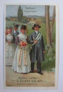 Kaufmannsbilder, A. Zuntz Sel. Kaffee, Tee, Sachsen, Bild 4, S.29  ♥