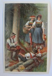Kaufmannsbilder, A. Zuntz Sel. Kaffee, Tee, Schwarzwald, Bild 4, S.29  ♥