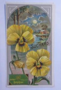 Kaufmannsbilder, Chocolat Suchard, Milka Velma, Blume, Noisettine, 1910 ♥