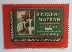 Vignetten Kaiser Natron Arnold Holste Bielefeld  ♥ (9314)
