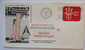 Raumfahrt USA NASA Space Shuttle Acoustics Test Program 28.3.1979 (7897)