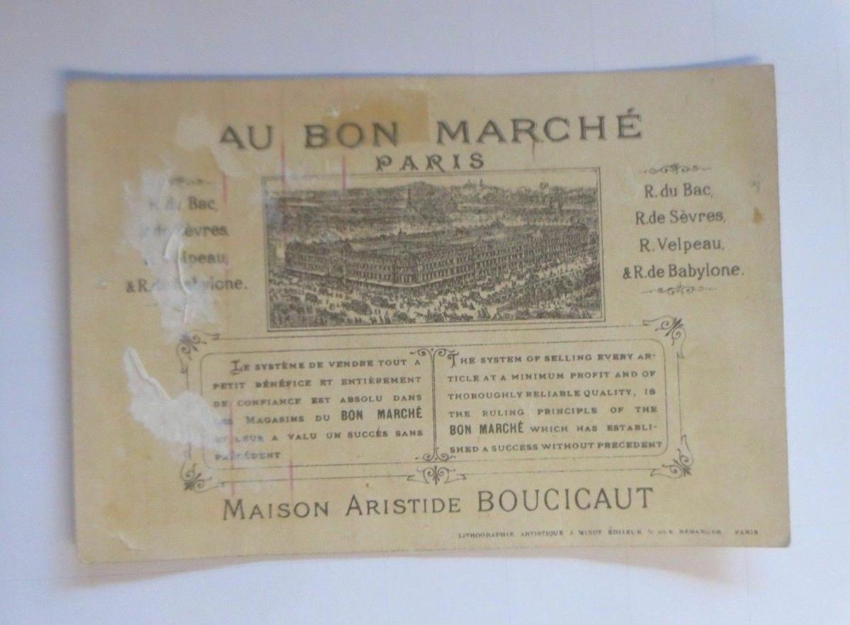 Kaufmannsbilder, Au Bon Marche, Kinder, Angeln,  1910 ♥ (63240) 1