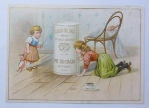 Kaufmannsbilder, Ph. Suchard, Cacao Soluble, Kinder, Spielzeug,  1910 ♥