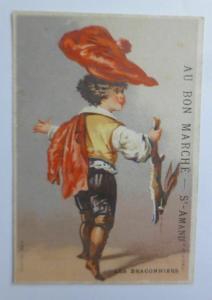 Kaufmannsbilder, Au Bon Marche, Kinder, Mode,  1898 ♥
