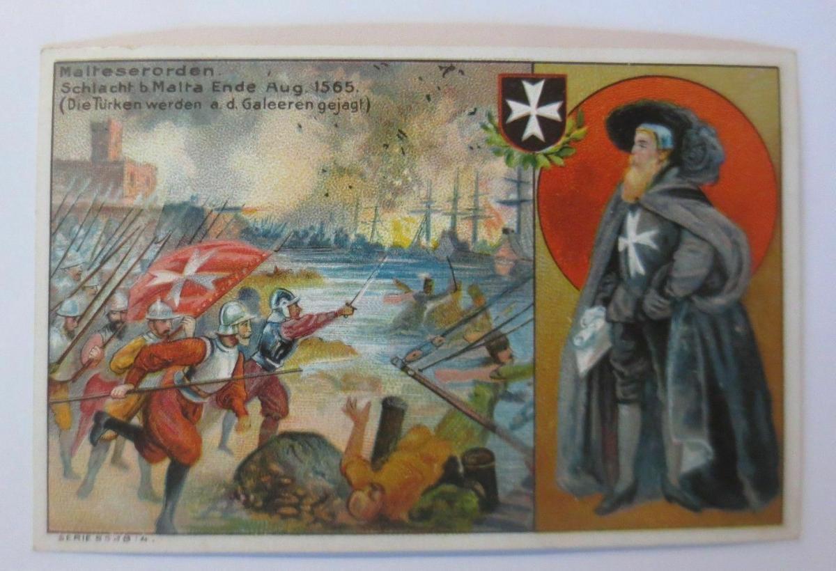 Kaufmannsbilder, Igeha Schokolade Hauswaldt, Ritterorden, Bild 4 ♥ 0