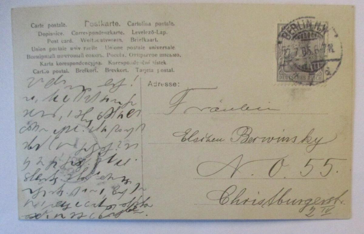 Musik Frau Lied, Freudvoll und Leidvoll 1905 (49055) 1