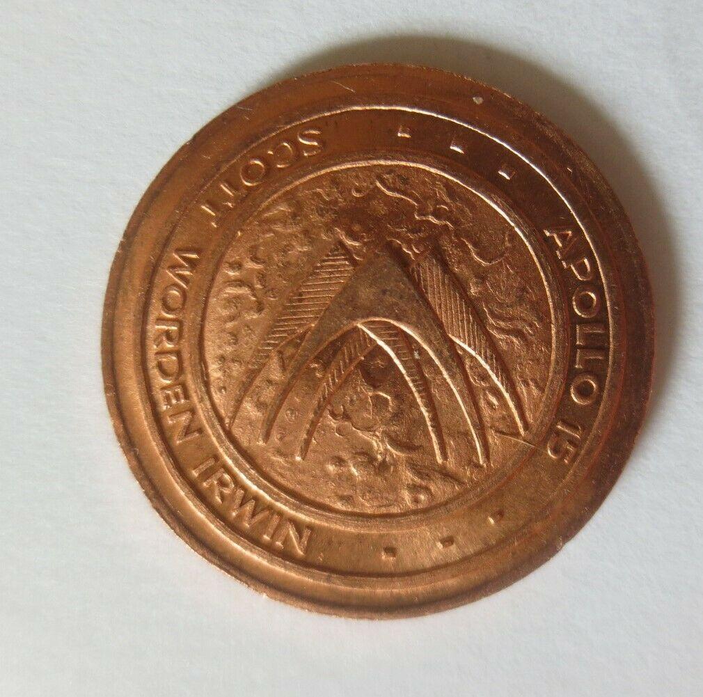 Medaille 1971 Deutschland Apollo 15 - Raumfahrt - Scott - Worden - Irwin♥(46373) 1