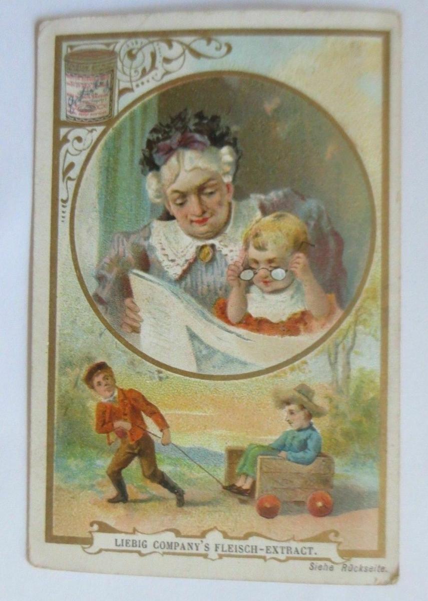 Liebig,  Serie  Kinder, Zukunft  ♥ 46610 0