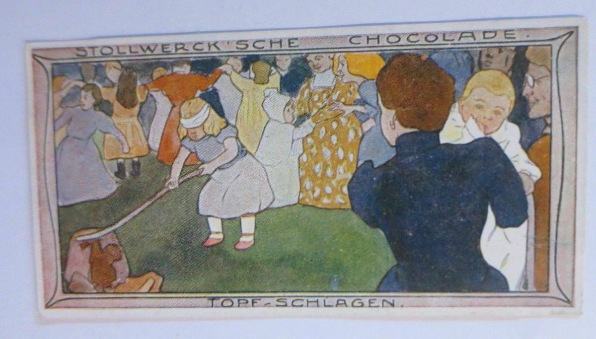 Stollwerck, Gruppe 184, Nr.2, Album ,Nr.4,  Kinderfeste ♥ 0