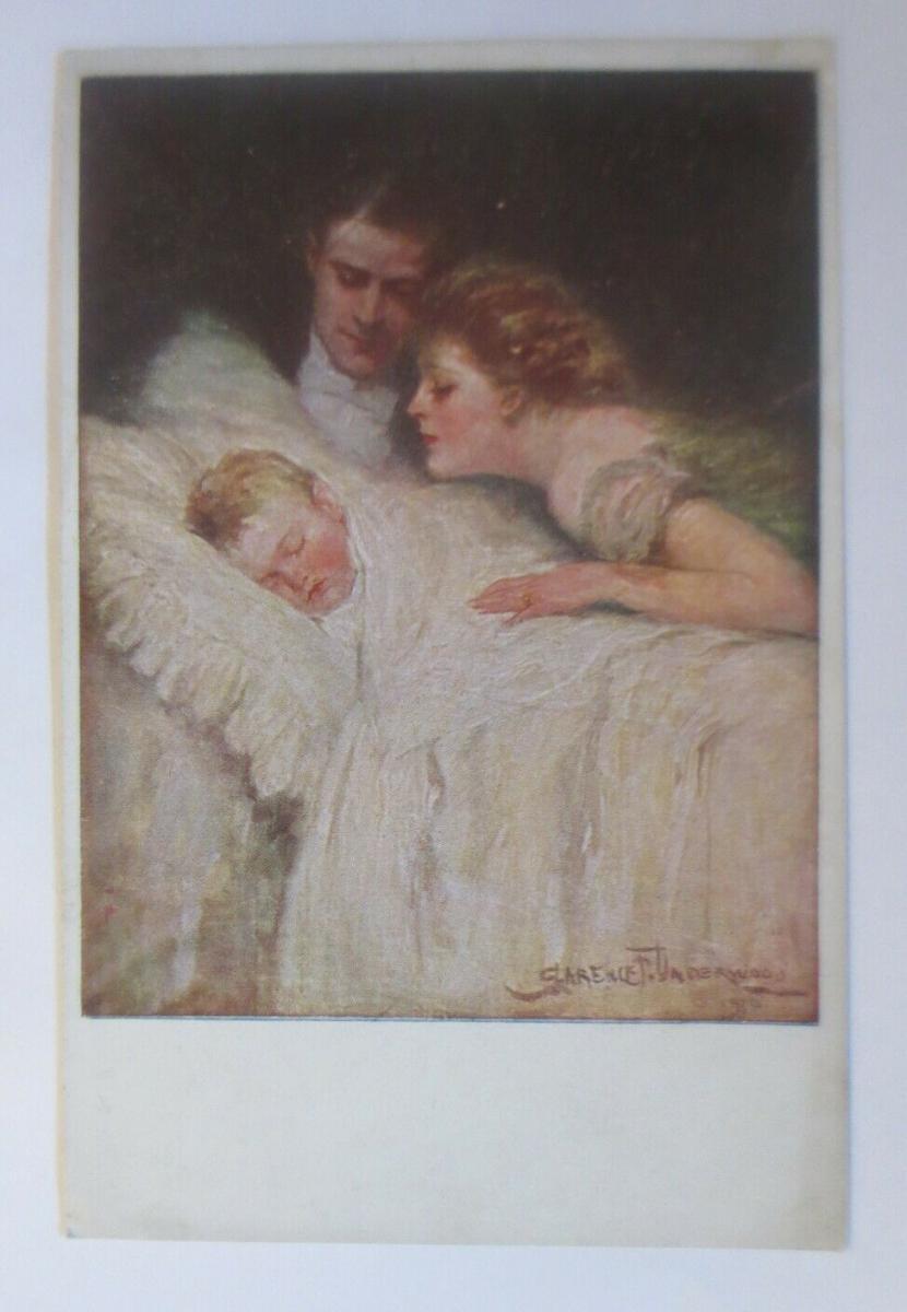 Künstlerkarte, Familienglück,   1918, Munk Vienne ♥ (19468) 0