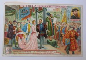 Liebig,Berühmte Kaufleute,Königin Elisabeth weiht  Londoner Börse,Bild 4♥