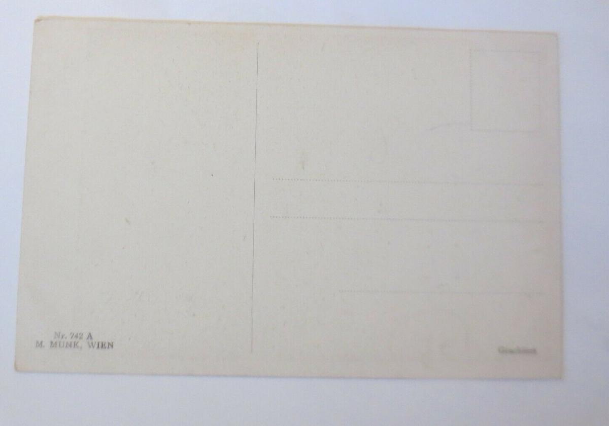 Künstlerkarte, Der letzte Walzer, 1920, Munk Vienne ♥ (19423) 1