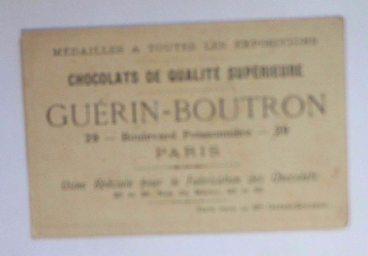 Kaufmannsbilder, Chocolat Guerin-Boutron , Kinder, Fahrrad,    1910 ♥ 1
