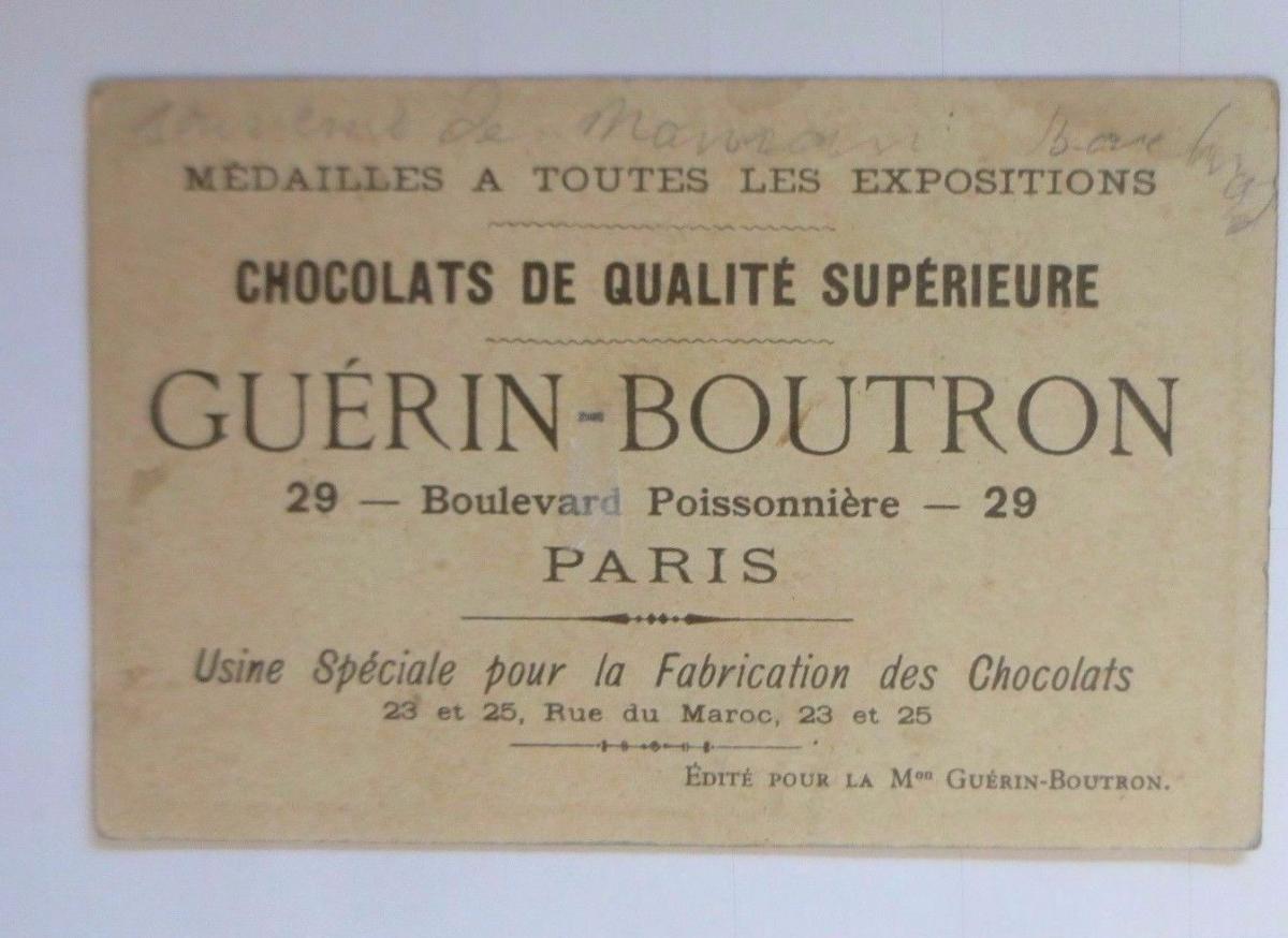 Kaufmannsbilder, Chocolat Guerin-Boutron, Kinder, Hasen,    1910 ♥ 1