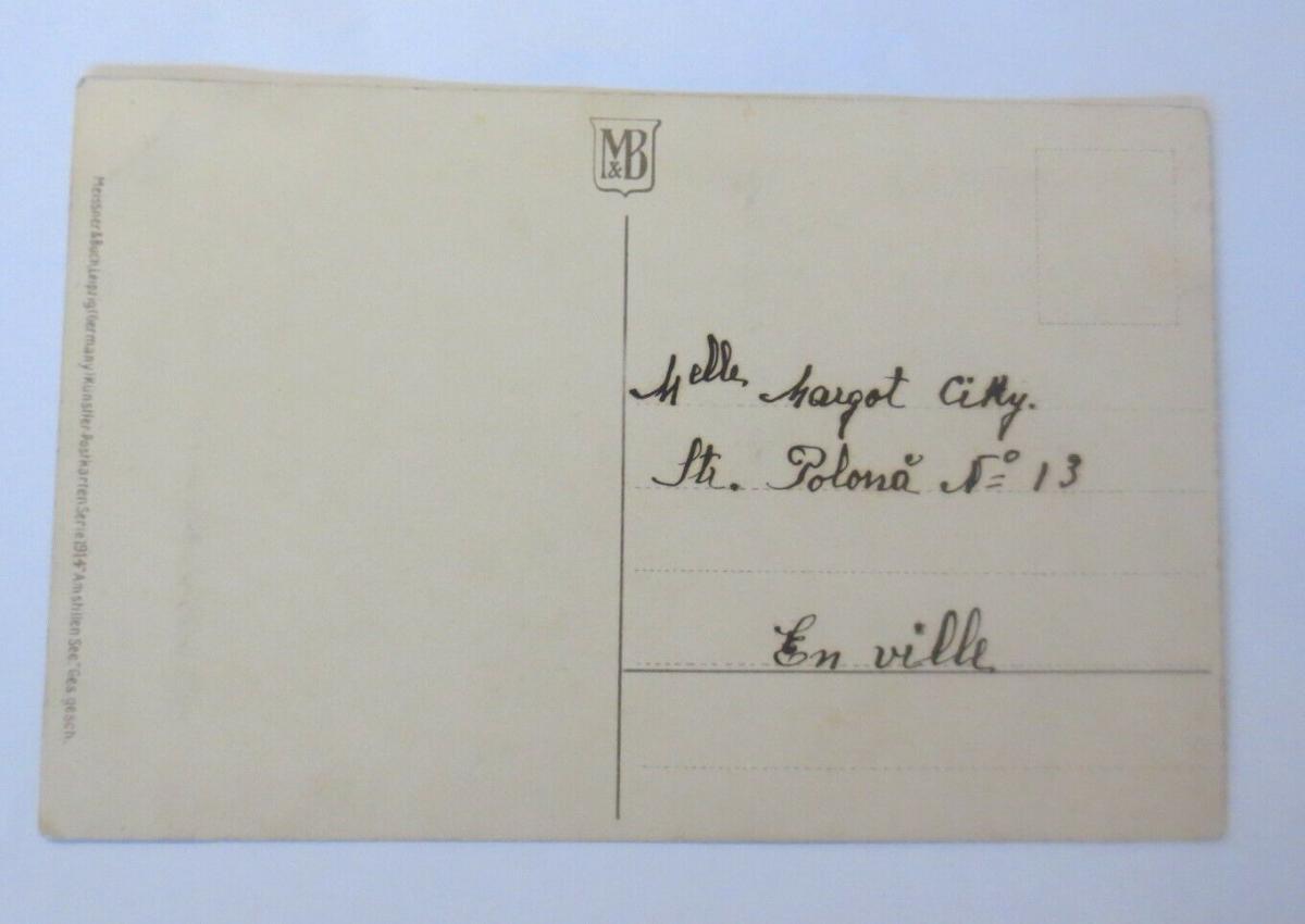 Künstlerkarte, Landschaft, Fluss, Boot, Männer, 1900, Meissner & Buch  ♥ (19408) 1