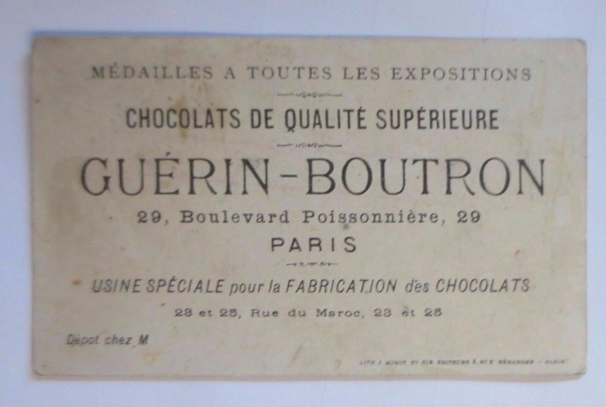 Kaufmannsbilder, Guerin-Boutron Chocolat, Kinder, Känguru 1910 ♥ 1
