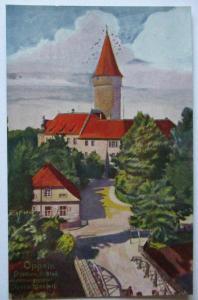 Polen, Schlesien, Oppeln,Piasten Schloß, Abstimmungsgebiet Oberschlesien (24893)