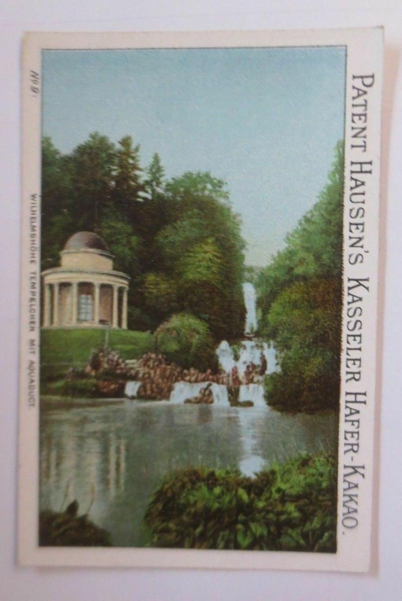 Kaufmannsbilder, Kasseler Hafer-Kakao, Wilhelmshöhe Tempelchen ♥ (45057) 0