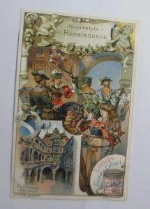 Liebig, Serie 538, Kunststile, Renaissance ♥