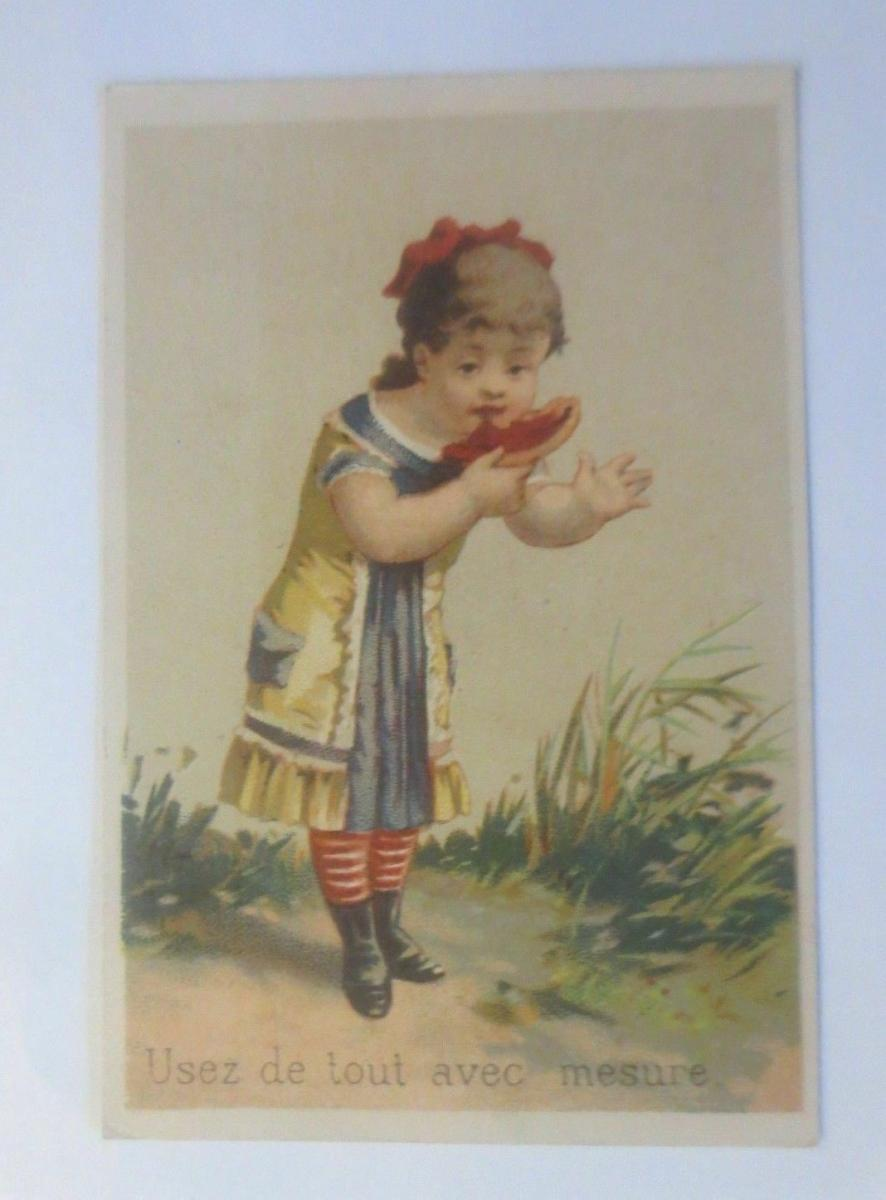 Kaufmannsbilder, Kinder, A. Fourquaux, Huile Speciale,  1870 ♥ (44633) 0