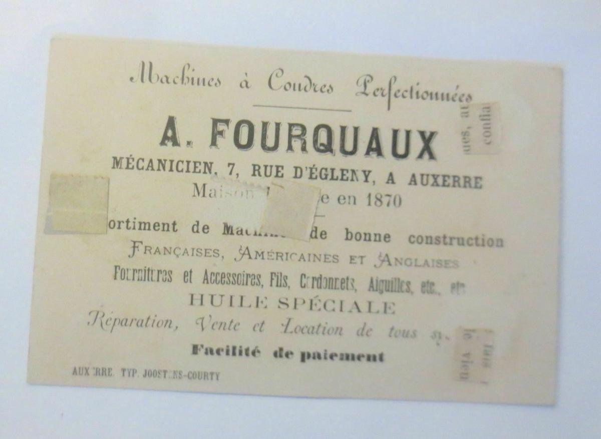Kaufmannsbilder, Kinder, A. Fourquaux, Huile Speciale,  1870 ♥ (44633) 1