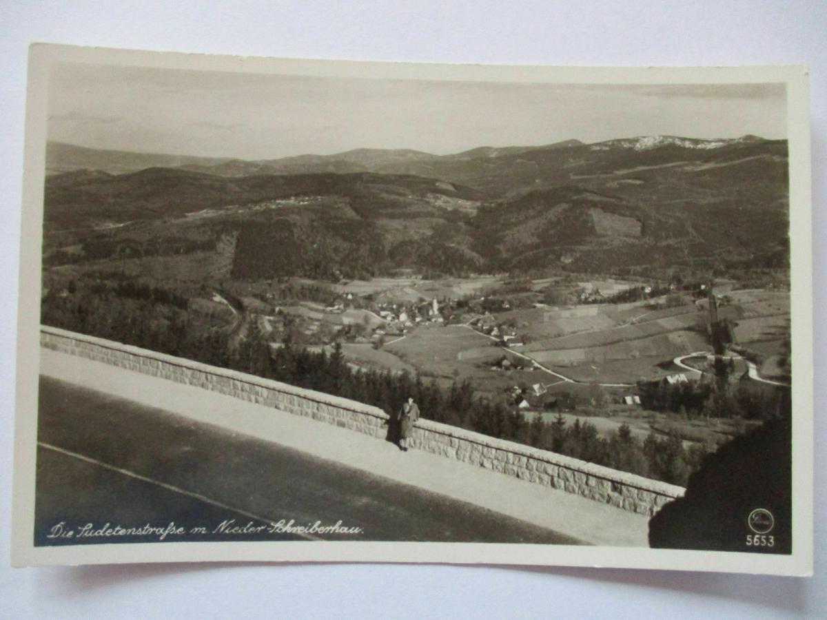 Schlesien, Polen, Mittel-Schreiberhau,Szklarska Poręba, Fotokarte (23051) 0