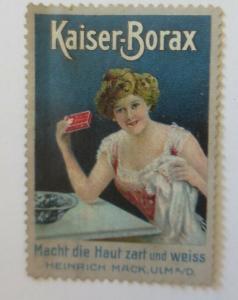 Vignetten Kaiser-Borax macht die Haut zart und Weiß aus Ulm  ♥ (62146)