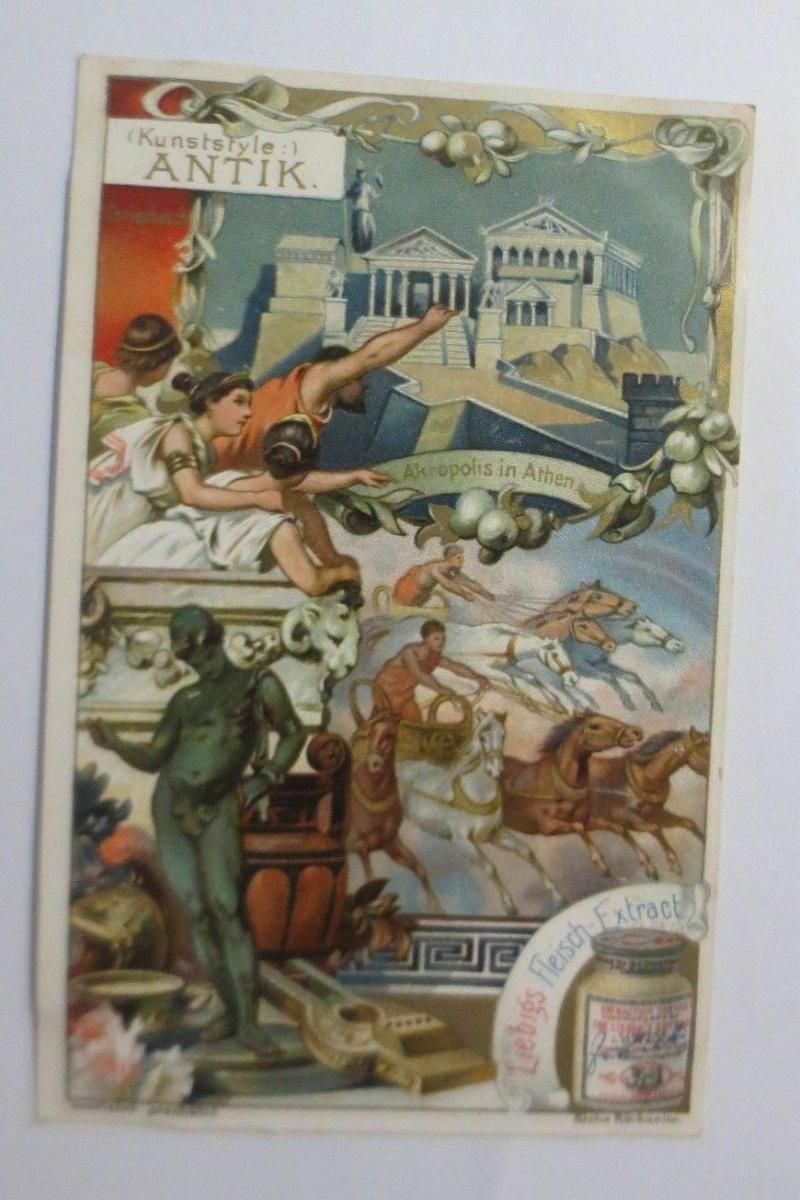 Liebig, Serie 538, Kunststile, Antik  ♥ 0