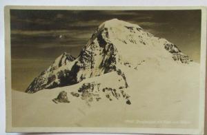 Berge Jungfraujoch, Hüttenstempel Berghaus, 1929 nach Erlangen (24824)