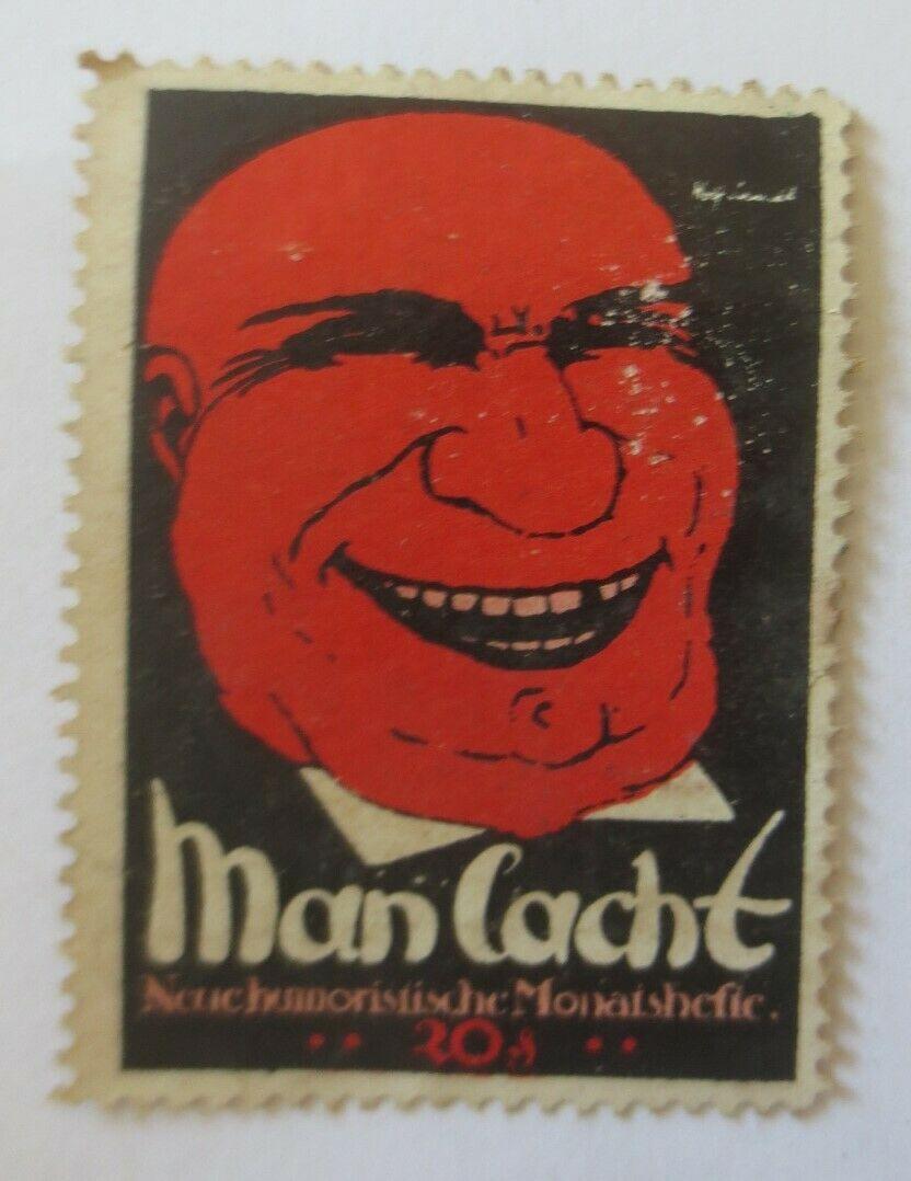 Vignetten Man lacht Neue Humoristische Monatshefte   ♥  (53240) 0