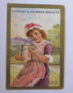 Kaufmannsbilder, Huntley Palmers Biscuits, Kinder, Gebäck,   1910 ♥