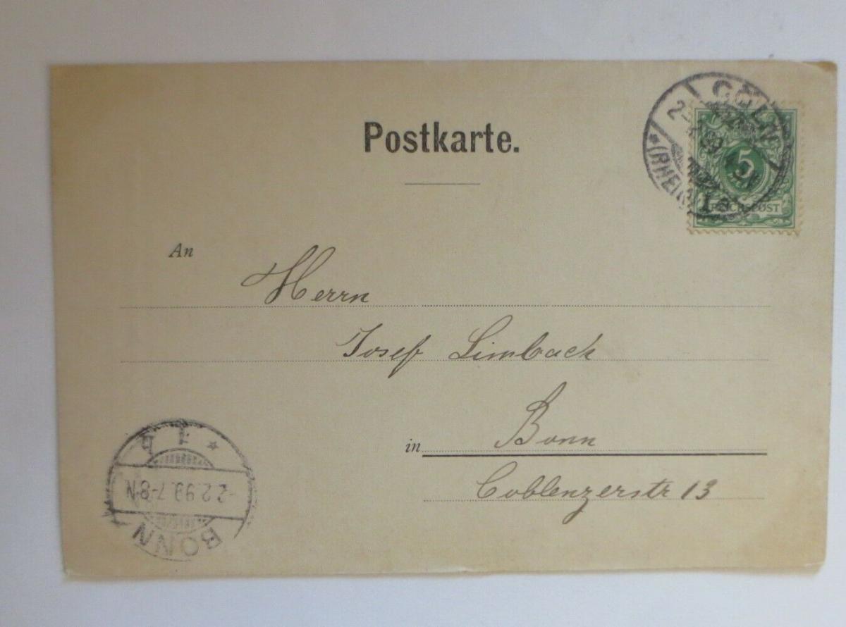 Künstlerkarte, Bulwer, Die letzten Tage von Pompeji 1900, F.B. Daubek ♥ (25504) 1