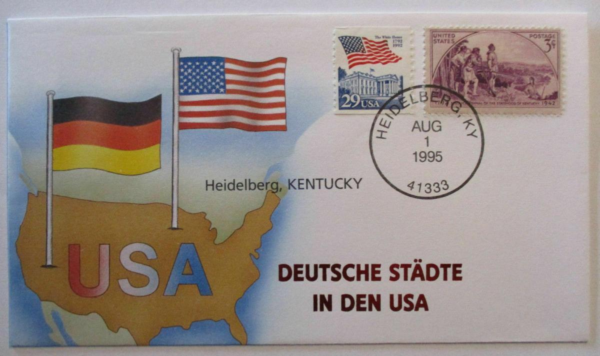 Deutsche Städte in den USA, Heidelberg Ohio 1995 0