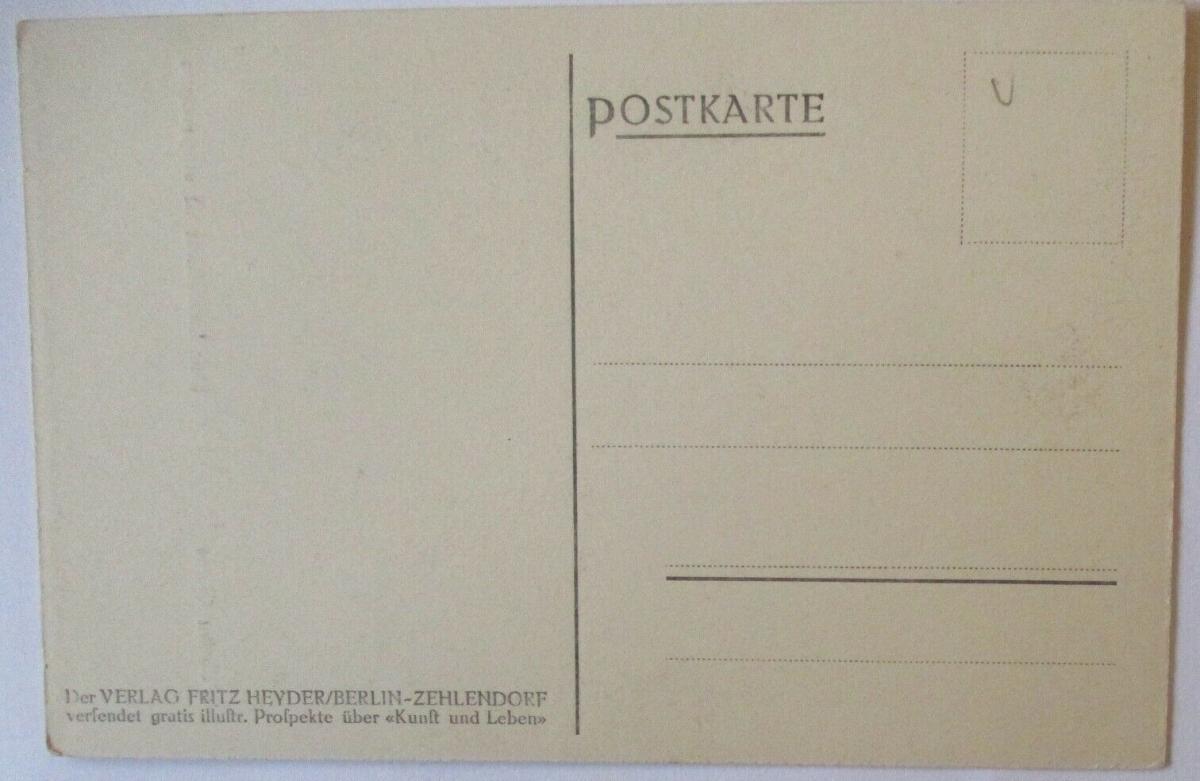 Patriotik Künstlerkarte Landsturm ist eingezogen sign. Wilhelm Giese (8370) 1