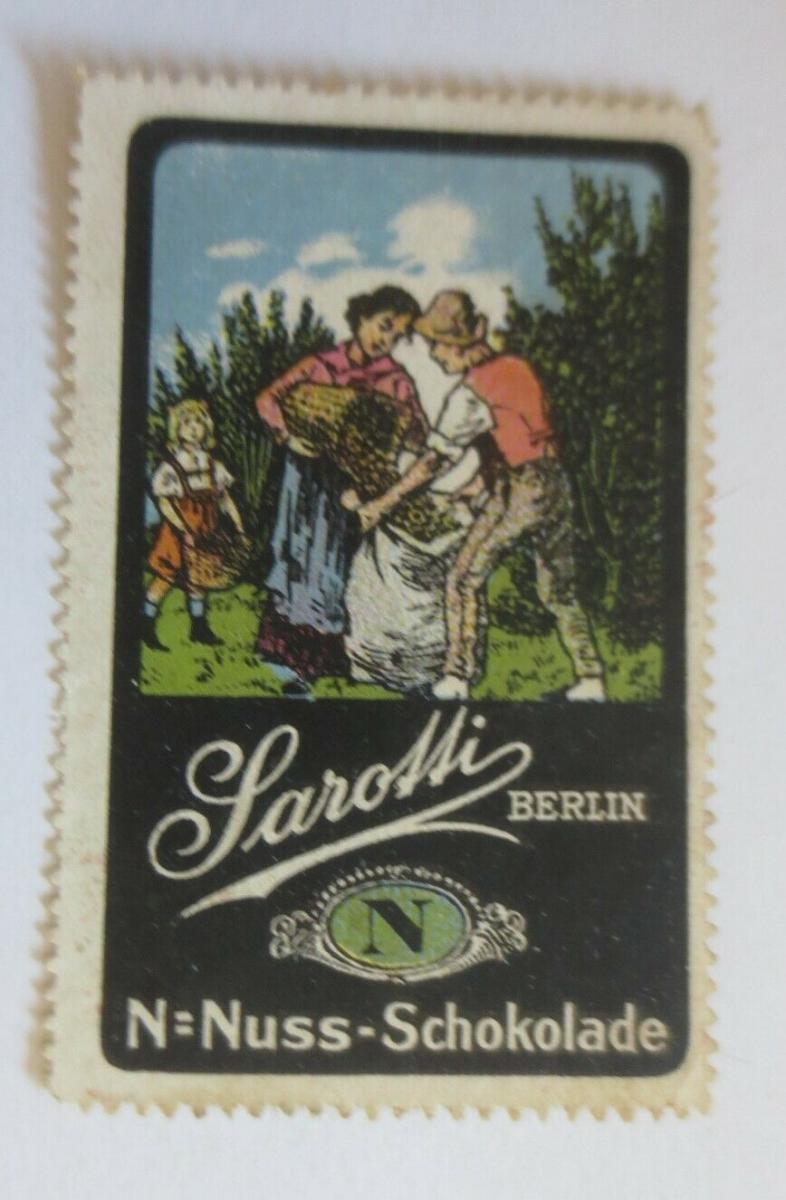 Vignetten Sarotti Berlin Nuss-Schokolade ♥ (42730) 0