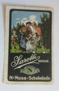 Vignetten Sarotti Berlin Nuss-Schokolade ♥ (42730)