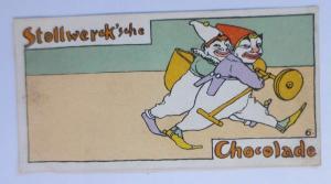 Stollwerck, Gruppe 161, Nr.6, Album ,Nr.4,  Die beiden Clowns ♥