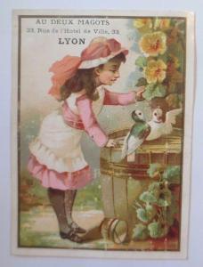 Kaufmannsbilder, Lyon,  Kinder, Tauben,  1910 ♥