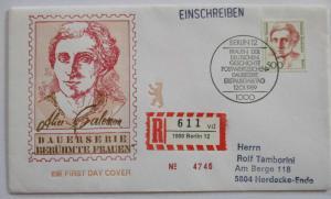 Berlin Frauen Nr. 830 R-FDC (60136)