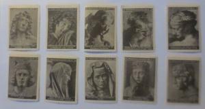 Vignetten Deutschland Kriegsgefangenen-Hilfe,10 versch.Künstlern ♥(58395)