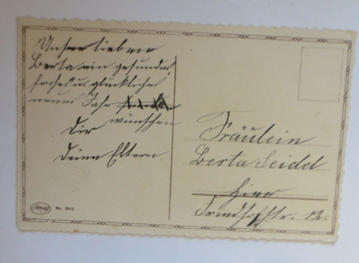 Neujahr, Glocken, Tannenzweige, 1930 ♥ (28716) 1