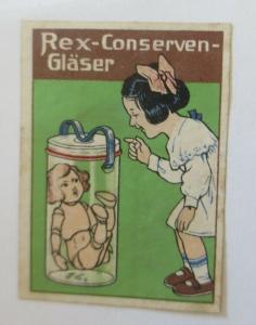 Vignetten Rex-Conserven-Gläser  ♥ (31189)