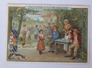 Kaufmannsbilder, Chicoree a la Francaise,  Kinder, Kaffee,  1910 ♥