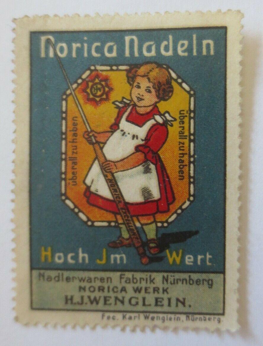Vignetten  Norica Nadeln Nadelwarenfabrik Nürnberg   ♥ (28173) 0