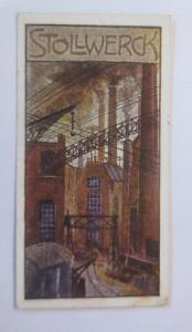 Stollwerck, Gruppe 362, Nr.6,  Album Nr.8,  Große Fabrik  ♥