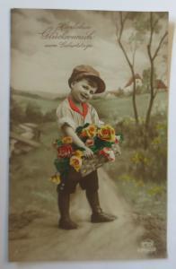 Ostern, Kinder, Mode, Rosen, Kinder,  1927 ♥ (15896)