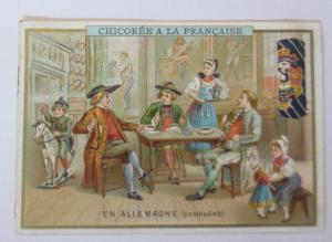 Kaufmannsbilder, Chicoree a la Francaise, Kinder, Spielzeug, 1910 ♥