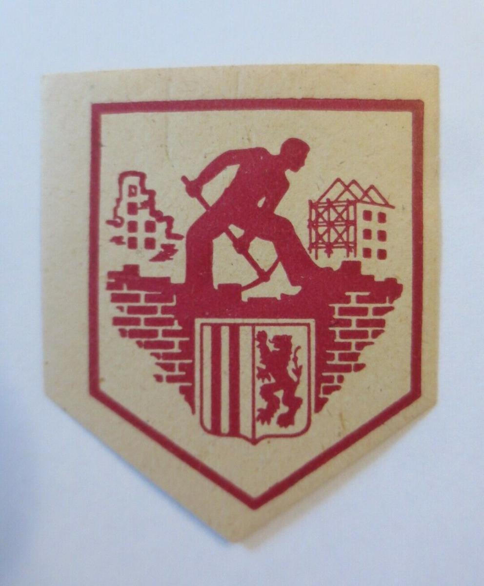Vignetten Wappen  Wiederaufbau  1945 ♥ (69915) 0